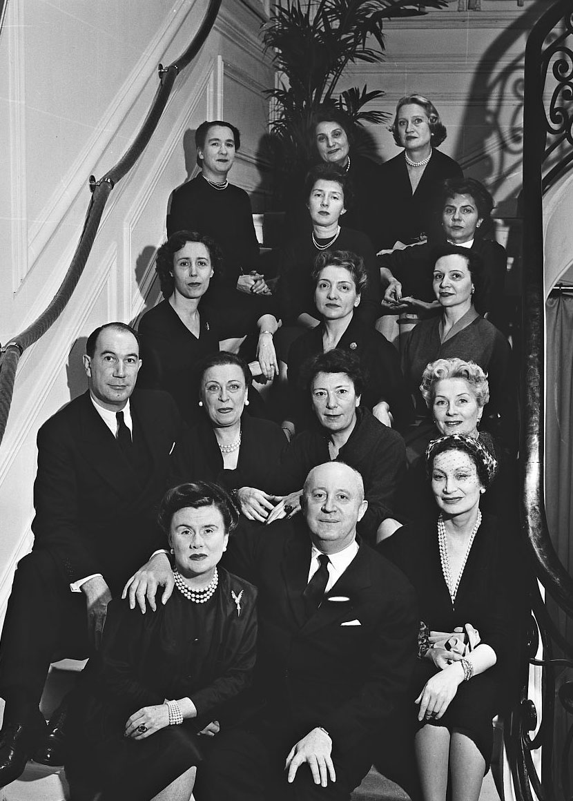 Christian Dior & his staff