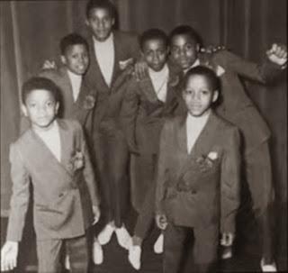 A Foto da 1ª Formação da Banda Jackson 5