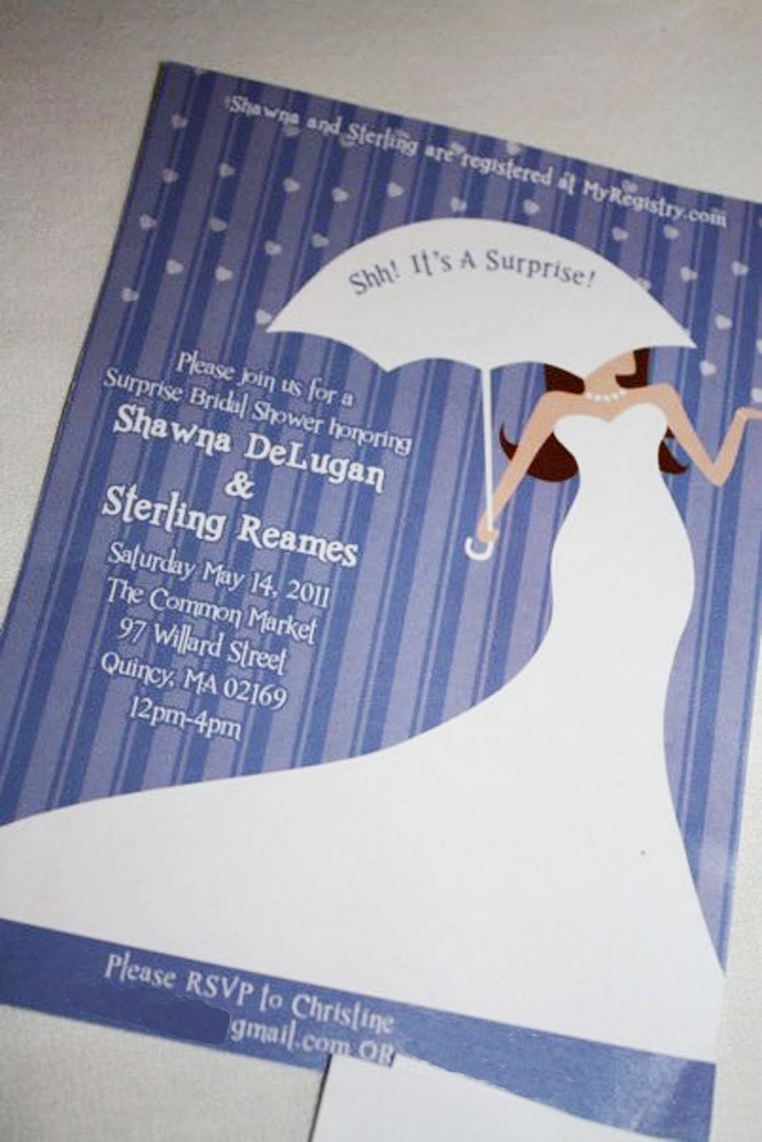 Gmail theme gone - Now That The Event Has Already Come And Gone I Can Share My Projects For Shawna S Bridal Shower The First Thing I Designed Was The Invitation
