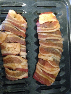 Sweet Bacon Wrapped Venison Tenderloin from Adventures in Life with Great Food