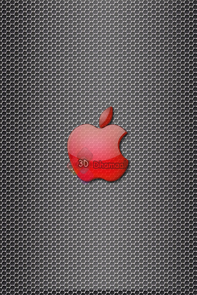 Apple Red Hex Iphone Wallpaper HD