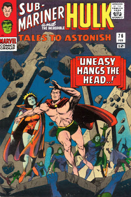 Tales to Astonish #76, Sub-Mariner