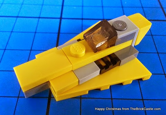 The LEGO Star Wars Advent Calendar Day 9 ship