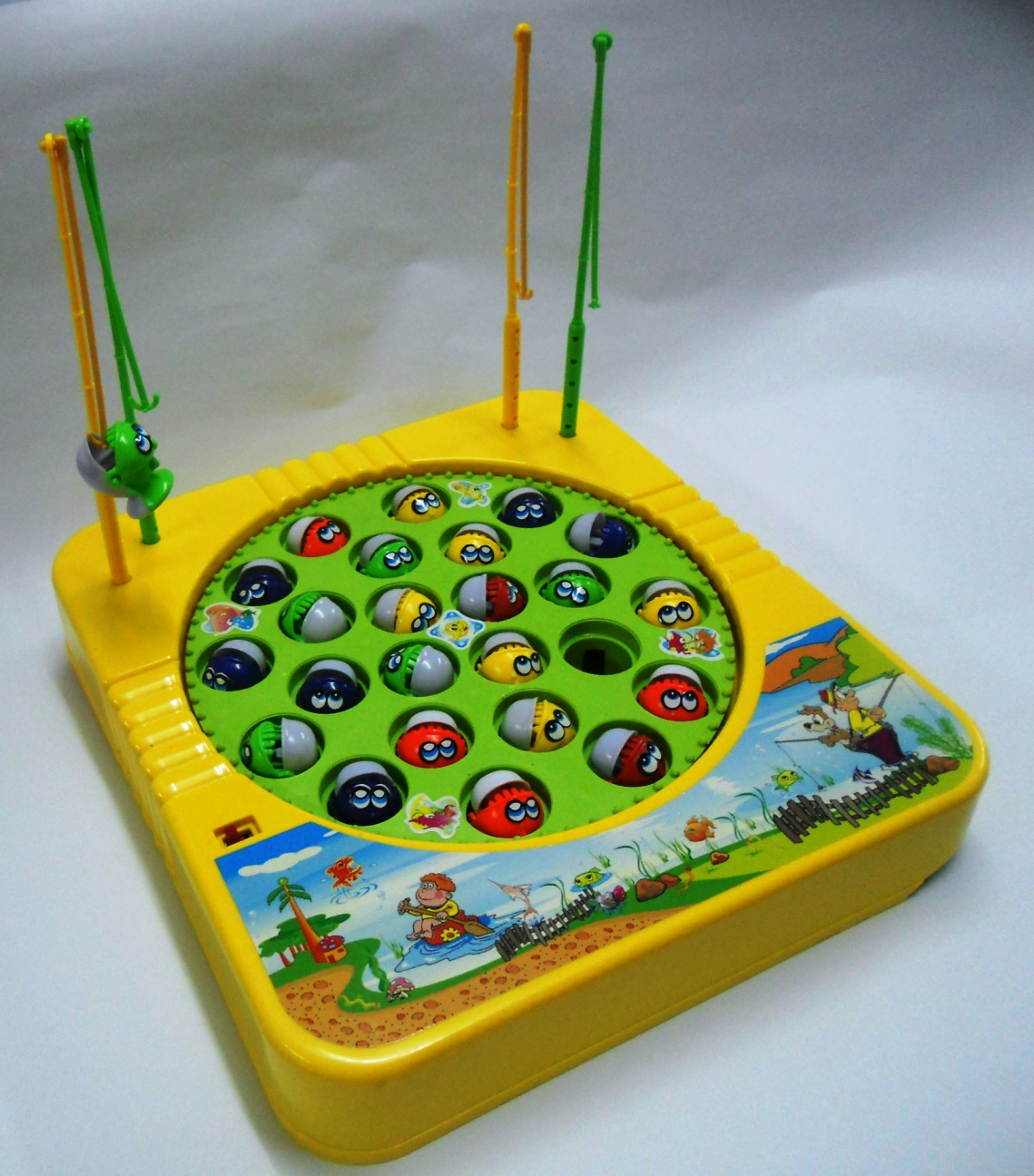 Fish Game Toy : Bongbongidea fishing game toy for up to players