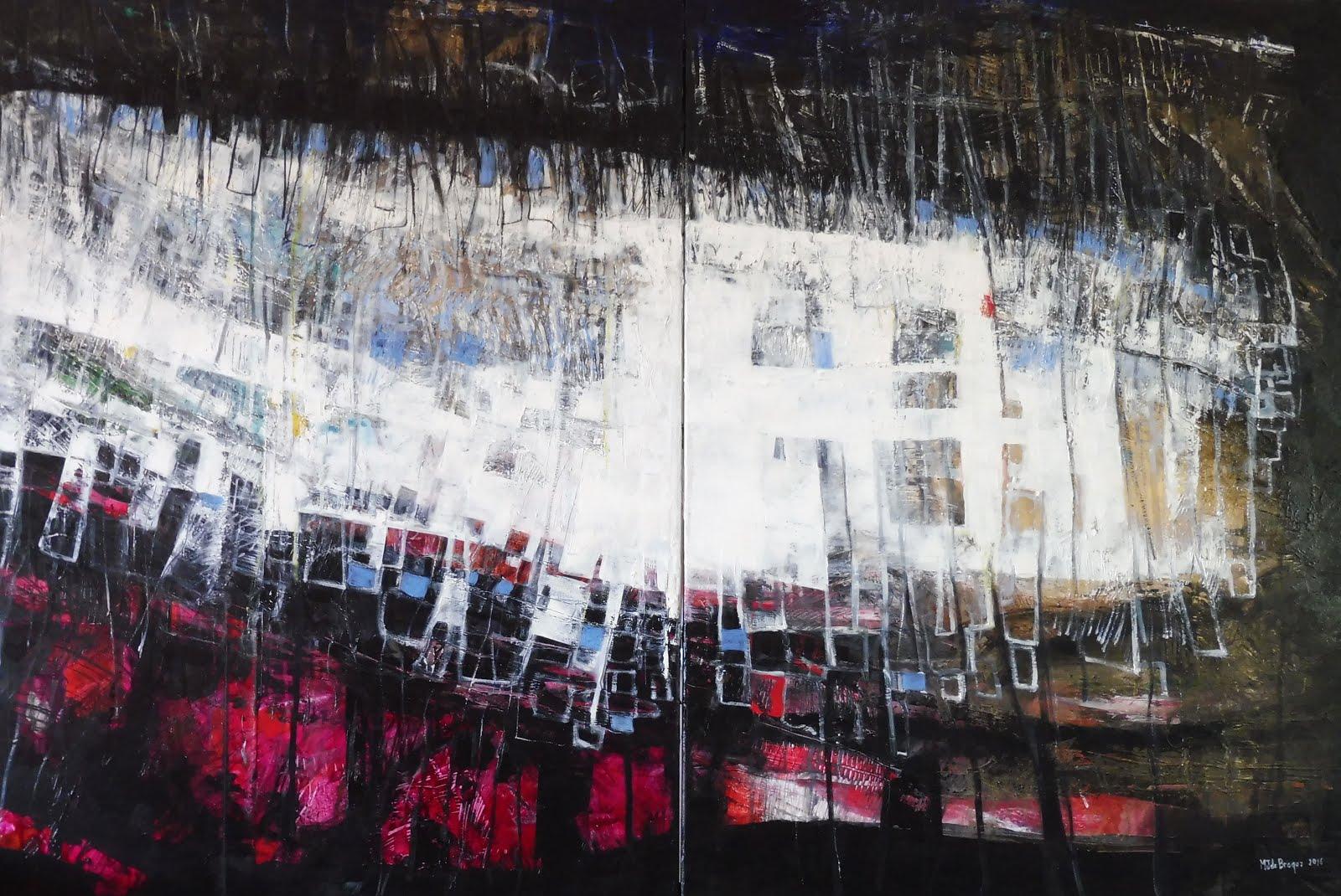 Ressac - 176 x 116 cm - 2016