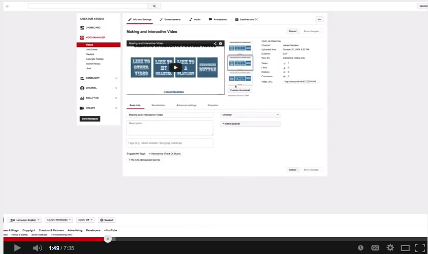 This Is How to Create Flipped Videos by Adding Interactive Elements and Annotations to YouTube Clips