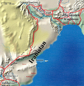 map of iranistan