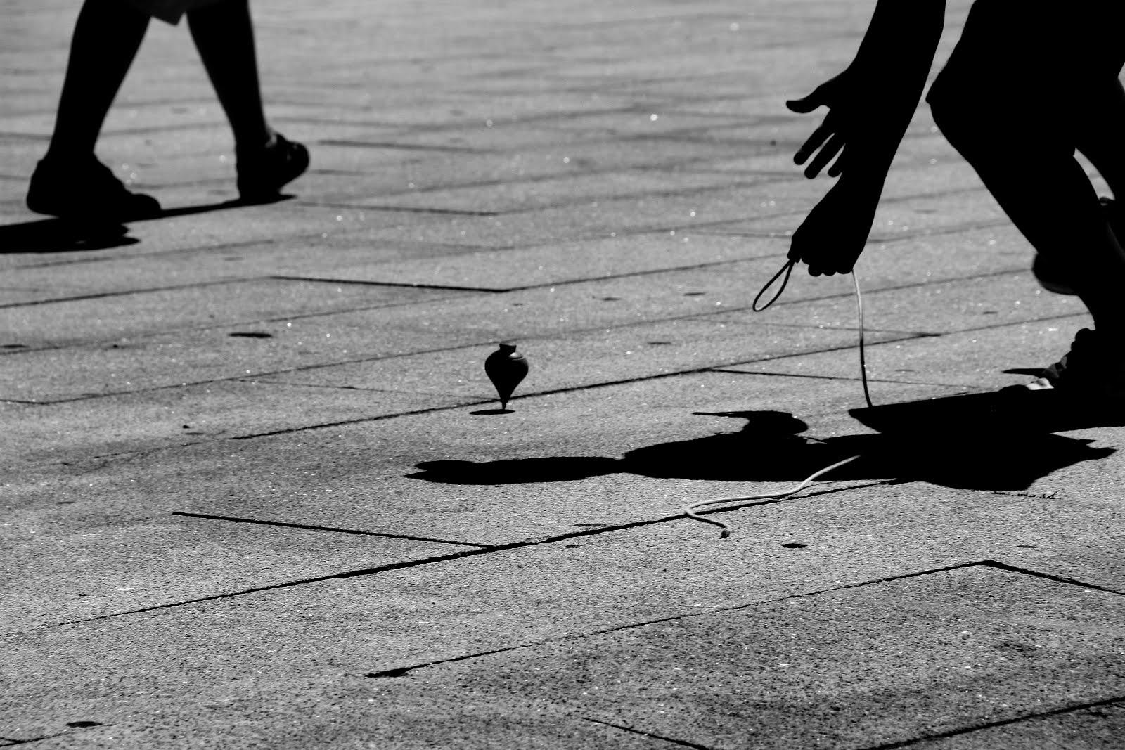 Jogo do Pião I (Um dos ditos tradicionais)