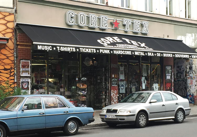 Core Tex Records Berlin 2015 Kreuzberg