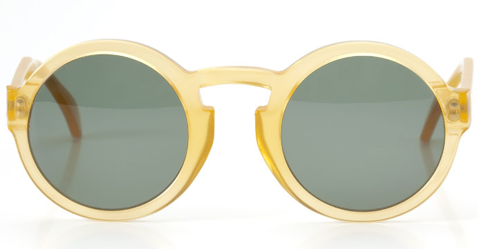 Lunettes Kollektion 2013: La Flaneur sunglasses in frosted lemon