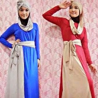Kumpulan Model Baju Gamis Wanita Terbaru 2018