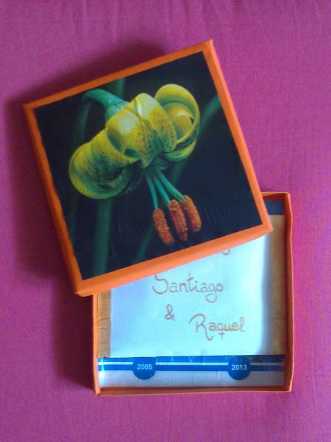 Crgc DIY caja origami entrega regalo bodas