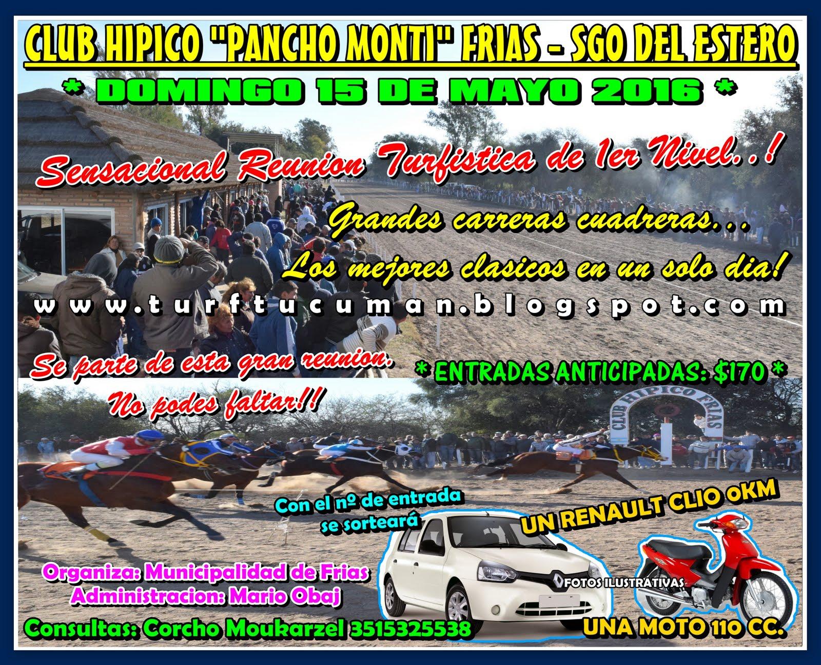 LLAMADO FRIAS MAY 2016