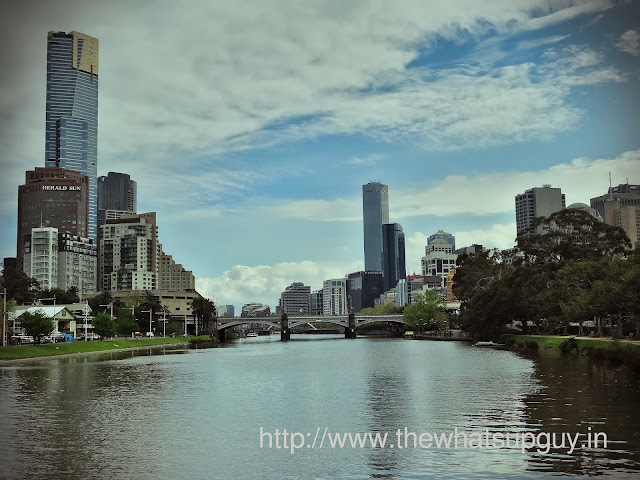 Melbourne City from Princes Walk