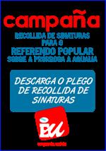 FOLLA DE RECOLLIDA DE FIRMAS