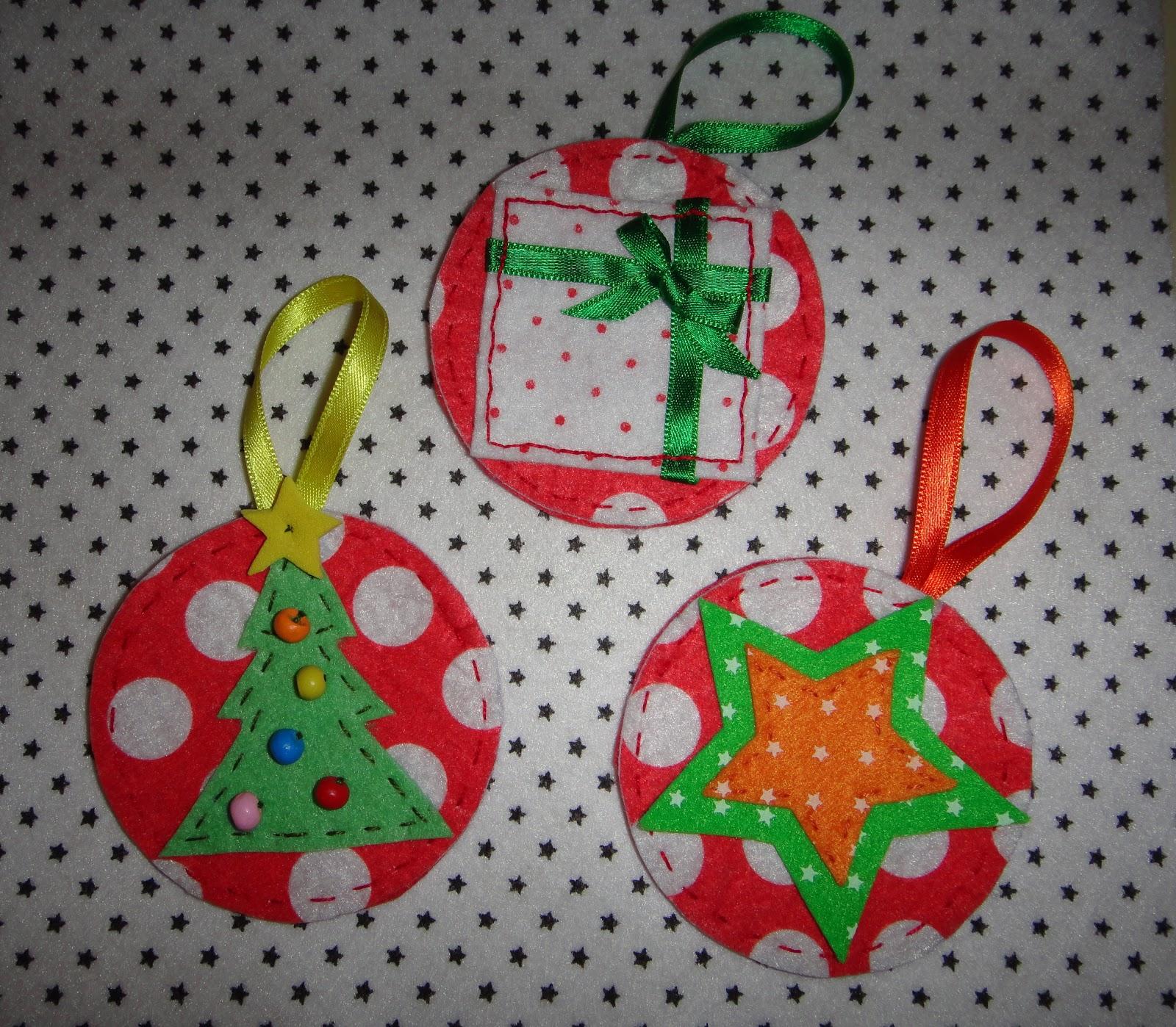 El taller de naid adornos de navidad i - Decoracion navidena para ninos ...