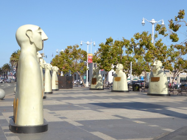 Our Silences sculptures San Francisco