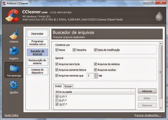 Buscador de arquivos do CCleaner - 560x400