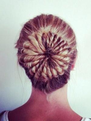 Peinados con torzadas