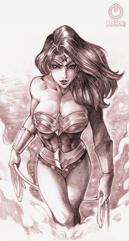 Wonder Woman por reiq
