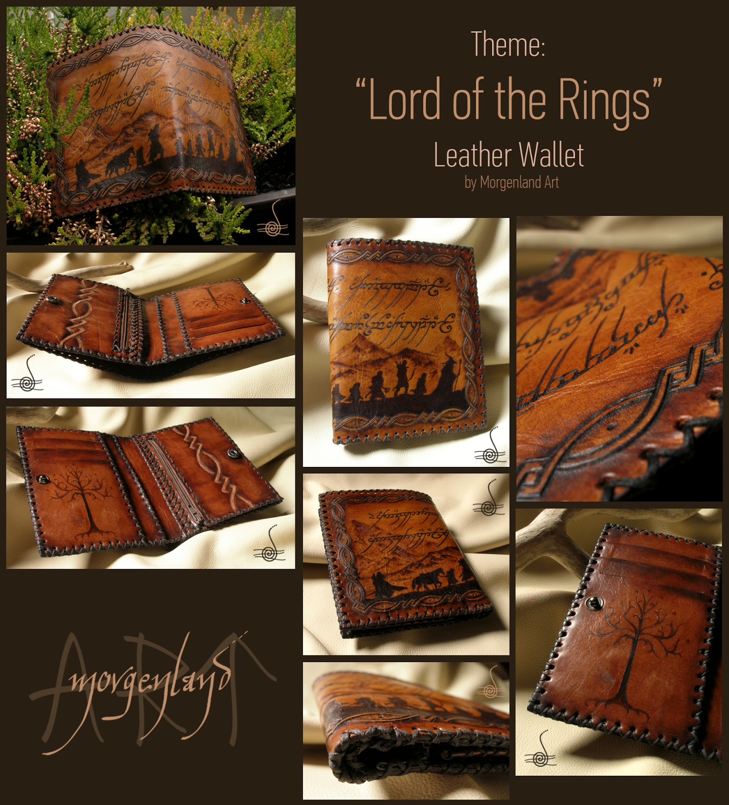 Gmail old theme - Lord Of The Rings Theme Leather Wallet
