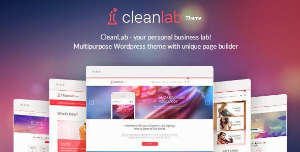 CleanLab WordPress Theme 2015