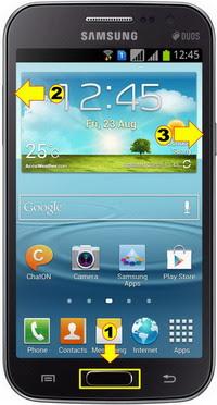Hard Reset & Factory Reset Samsung Galaxy Grand Quattro I8552