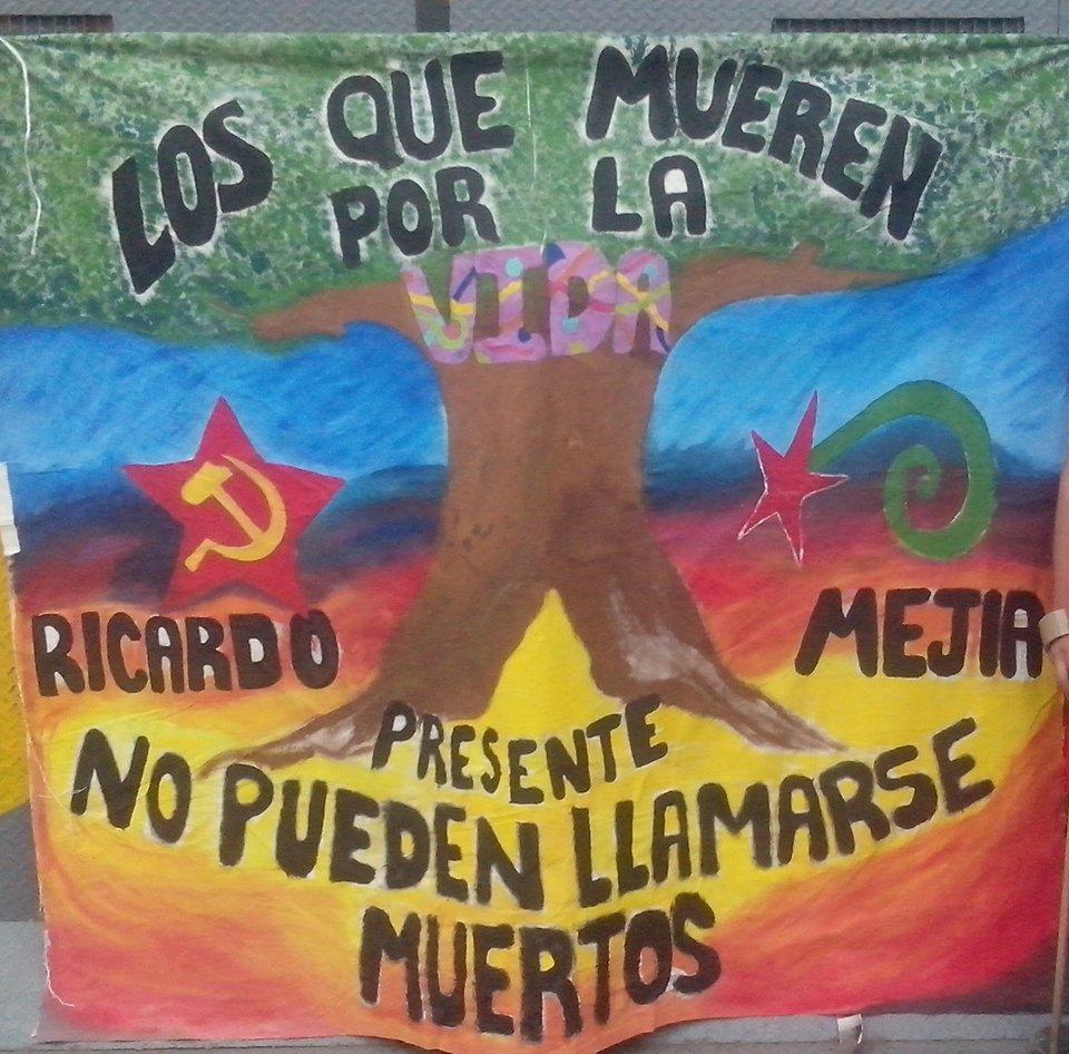 Ricardo Mejía Samaniego. Presente.