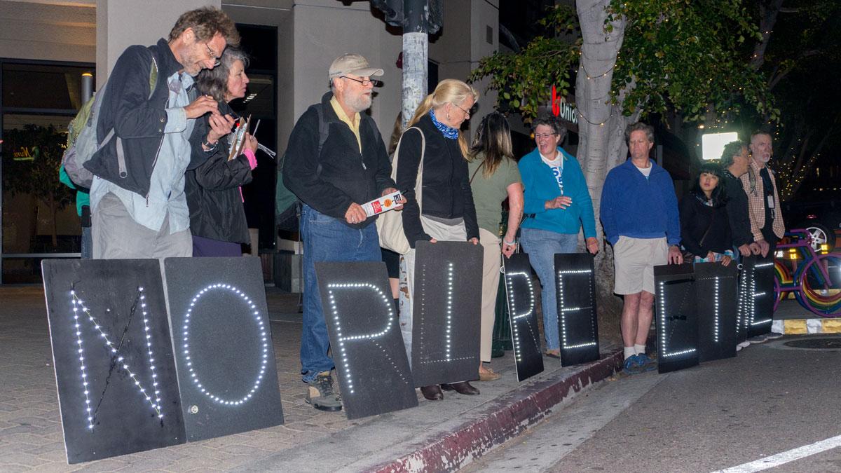 STOP KXL NO PIPELINE Light Brigade - Hillcrest, San Diego