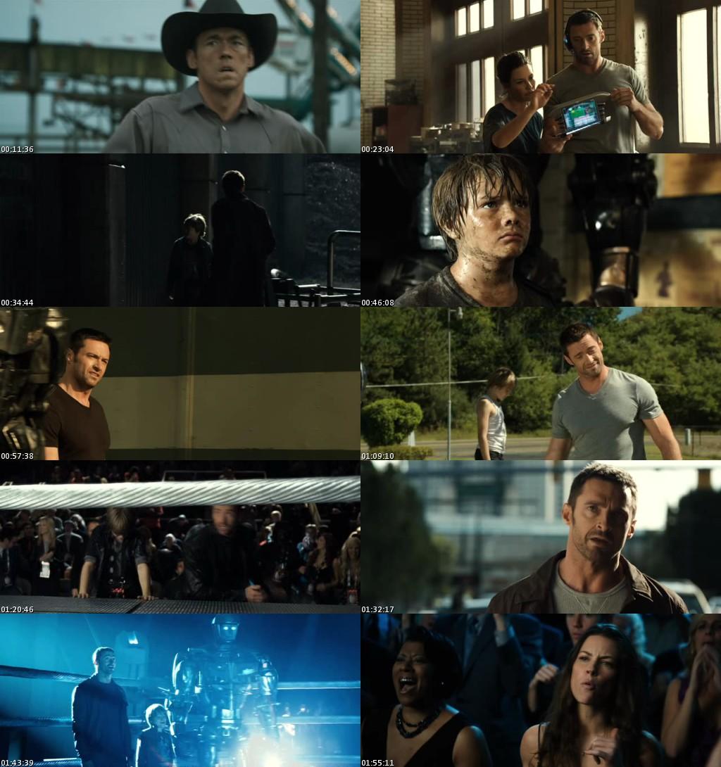 Gigantes de Acero (2011) [DVDRip] [Latino]