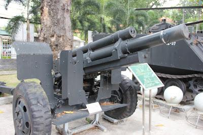 Artilleria Howitzer guerra de Vietnam