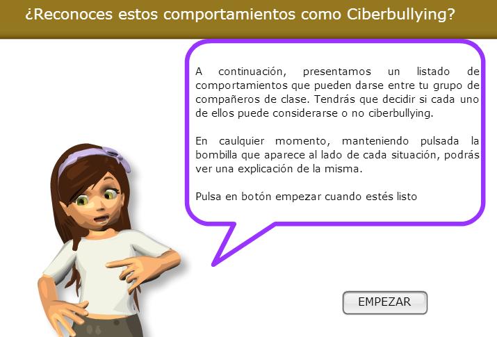 Reconoce el Ciberbullying