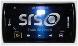 SRS 5.1 Virtual Surround on Samsung Galaxy S Android-powered smartphones