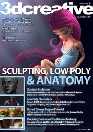 3DCreative Magazine issue 70 June 2011