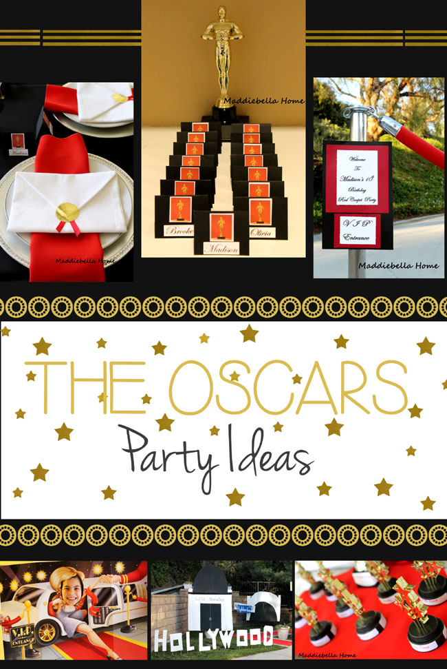 oscar party ideas for a birthday
