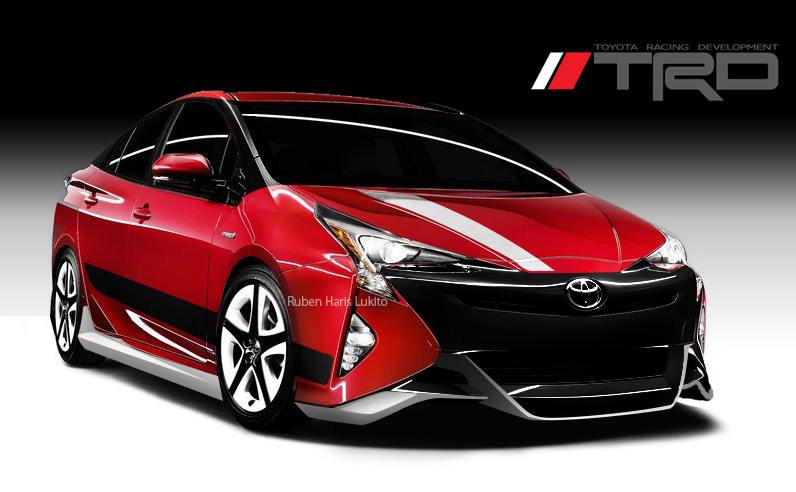 Toyota Prius 2016 Trd Car Modification Idea