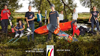 Seppe Smits and the Belgian winter athletes for Sochi 2014