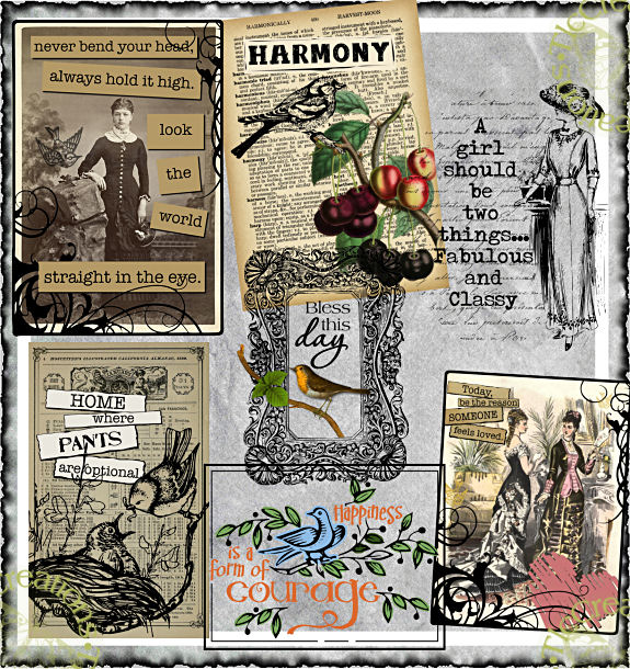 Words of Wisdom Vintage Printables