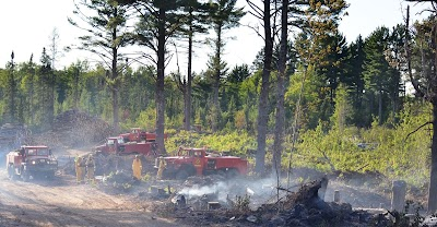Crews have 80-acre 'County Road 601' wildfire in Marquette County 95% contained