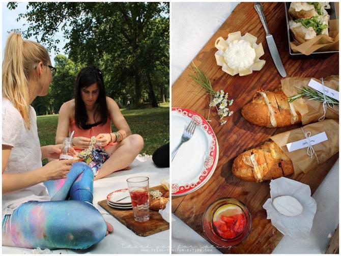 Geramont Glückskäse Picknick Ofenbaguette