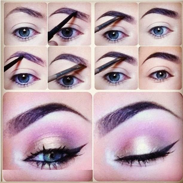 Easy Steps To Define Your Eyebrows Makeup Tips