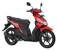 honda beat CW Electro Red