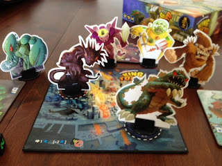 King of Tokyo monsters