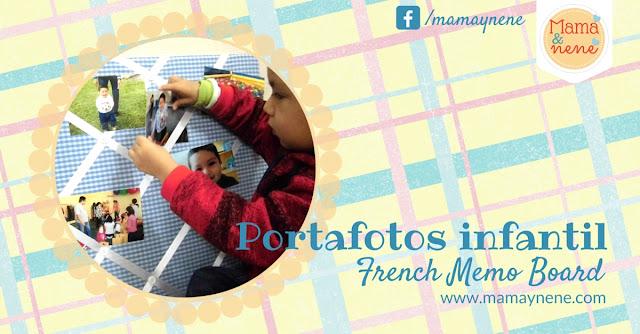 PORTAFOTOS-FRENCH-MEMO-BOARD-KIDS-MAMAYNENE