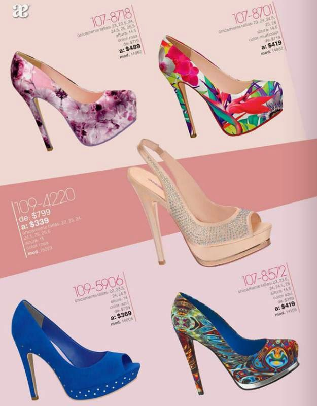 Zapatos con Plataforma Outlet 1-2015
