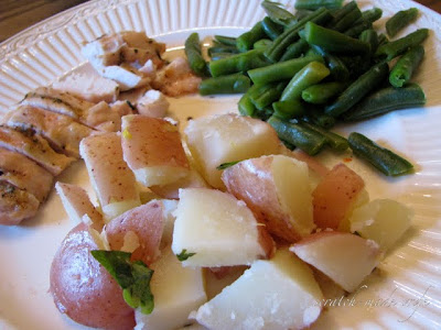 healthy potato side dish