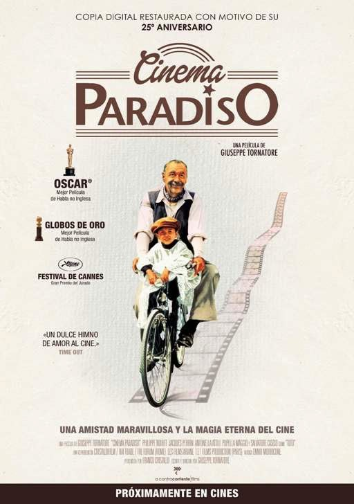 Cinema Paradiso de Giusppe Tornatore
