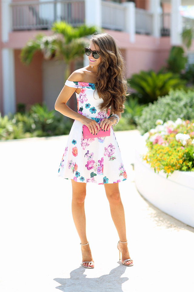 Floral Dress perfect for vacation or cocktail parties