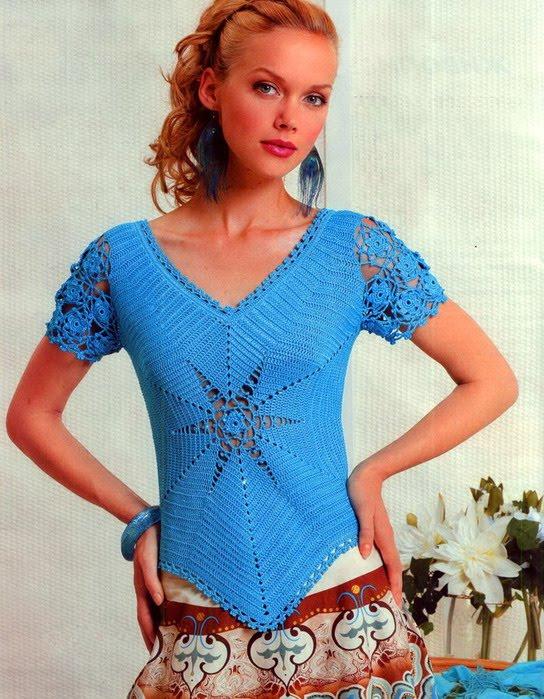 Вязанье спицами топы платья