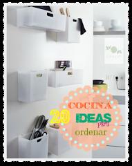 Cocina ordenada: 20 ideas
